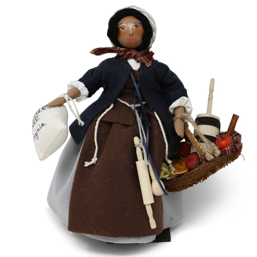 Colonial Pie Maker Wooden Doll - The Shops at Mount Vernon - The Shops at Mount Vernon
