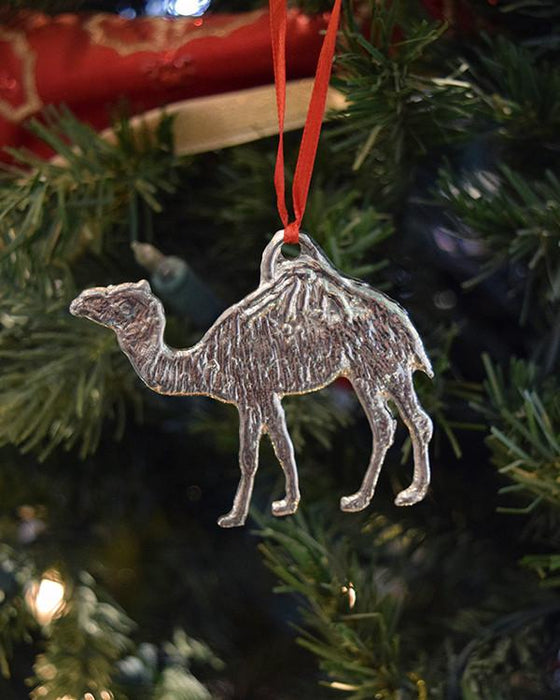 Aladdin Camel Pewter Ornament - The Shops at Mount Vernon - The Shops at Mount Vernon