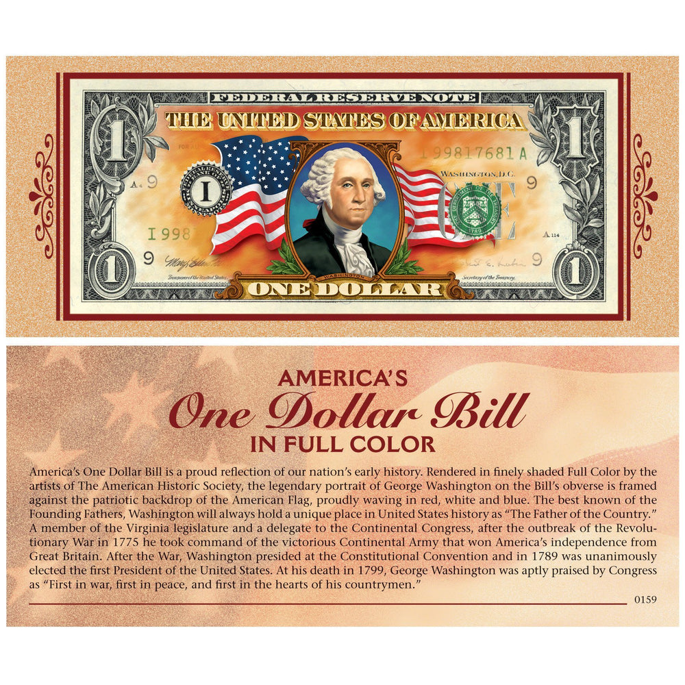 US Dollar Bill in Color - The Shops at Mount Vernon - The Shops at Mount Vernon