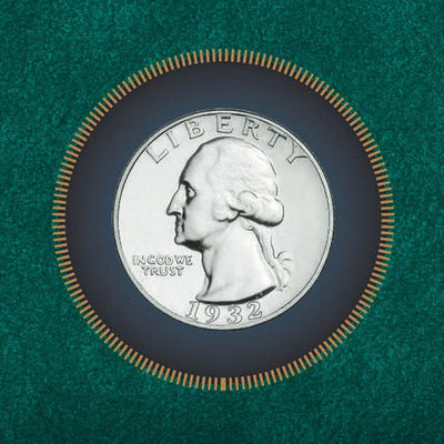 George Washington Silver Quarter - 1932