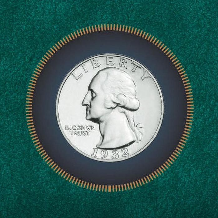 George Washington Silver Quarter - 1932 - Unified Precious Metals, Inc. - The Shops at Mount Vernon