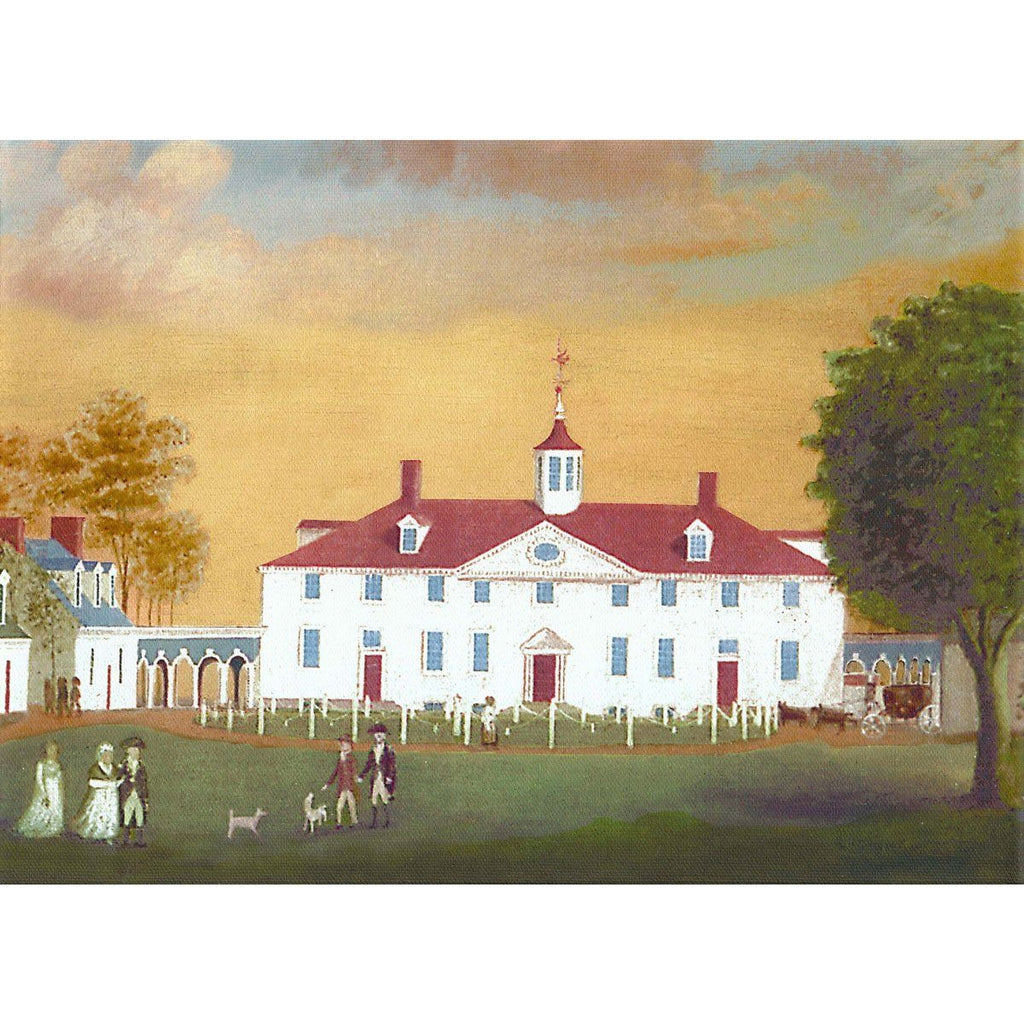 Mount Vernon 1792 Stretched Canvas Print