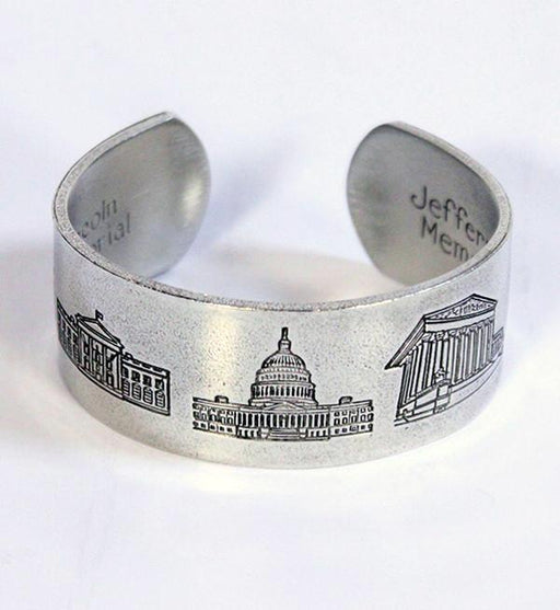 Washington DC Pewter Bracelet - SALISBURY PEWTER - The Shops at Mount Vernon