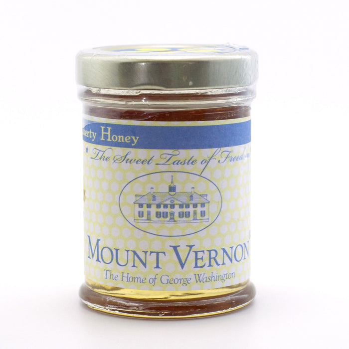 Mount Vernon Liberty Honey in 3 Ounce Jar - The Shops at Mount Vernon - The Shops at Mount Vernon