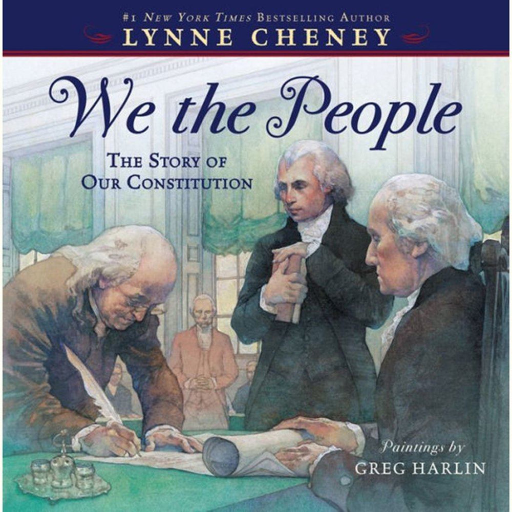 We The People: The Story of Our Constitution - SIMON & SCHUSTER - The Shops at Mount Vernon