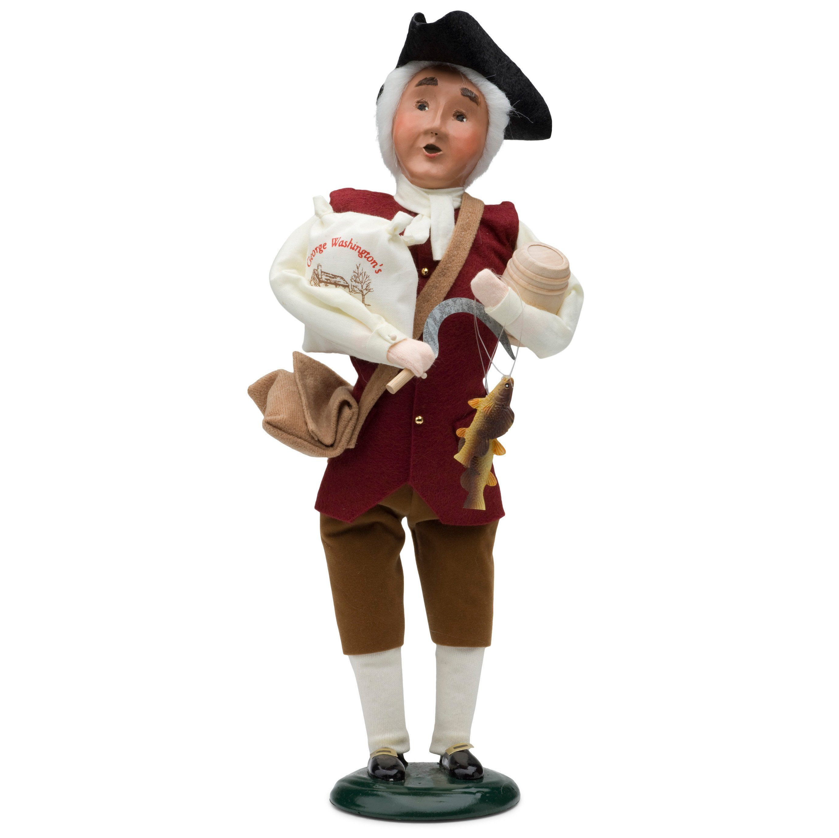 Entrepreneur George Washington Caroler