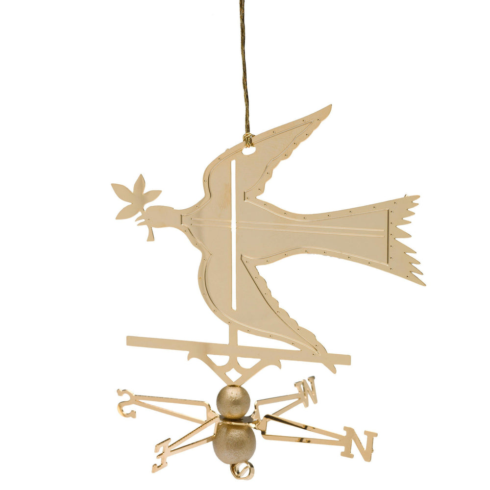 Dove of Peace Brass Ornament - DESIGN MASTER ASSOCIATES - The Shops at Mount Vernon