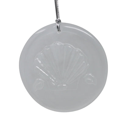 Martha Washington's Shell Suncatcher