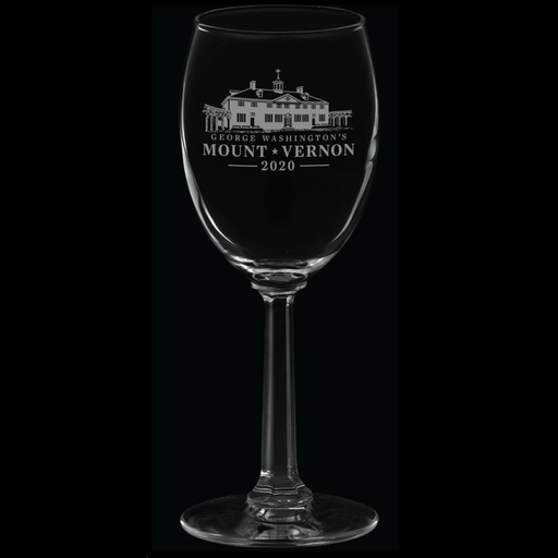 Mount Vernon 2020 Wine Glass - CHARLES PRODUCTS INC. - The Shops at Mount Vernon