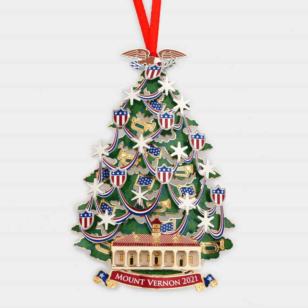 Mount Vernon 2021 Annual Ornament - DESIGN MASTER ASSOCIATES - The Shops at Mount Vernon