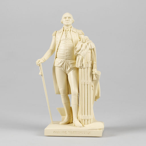 White Colored Statue of Washington by Houdon - The Shops at Mount Vernon - The Shops at Mount Vernon