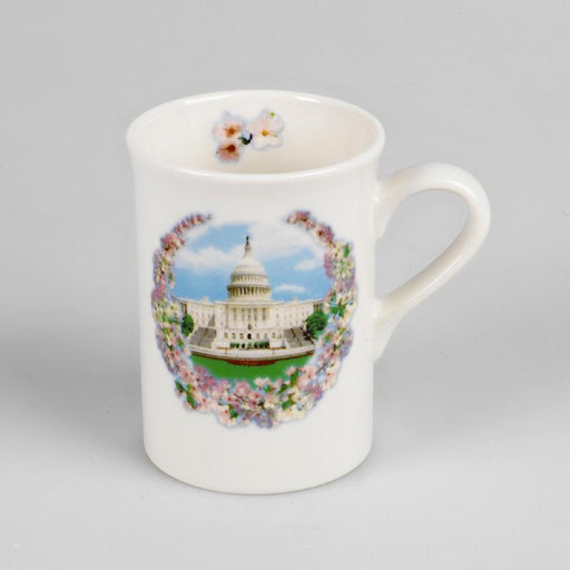 Washington DC Cherry Blossom Mug - The Shops at Mount Vernon - The Shops at Mount Vernon