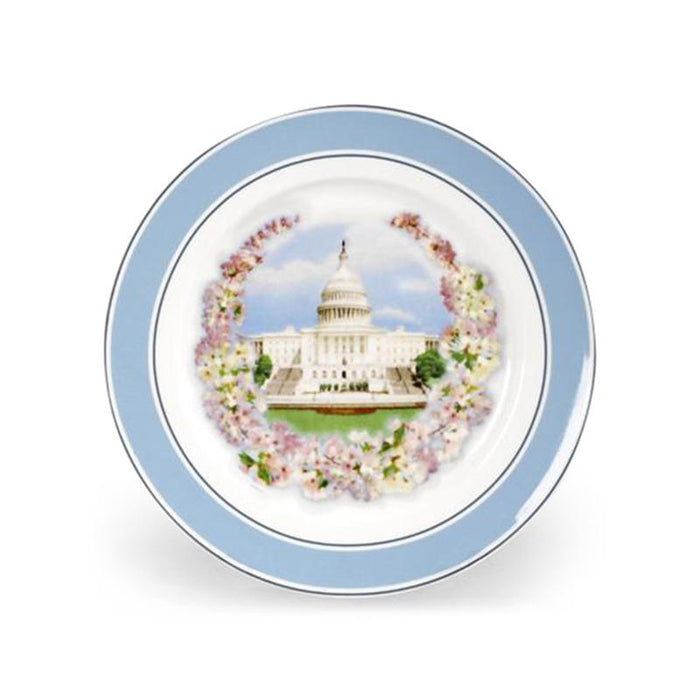 Washington DC Cherry Blossom Plate: Originally $28.00 - The Shops at Mount Vernon - The Shops at Mount Vernon