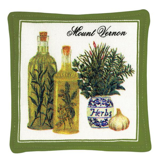 Mount Vernon Herbs Spiced Mug Mat - The Shops at Mount Vernon - The Shops at Mount Vernon