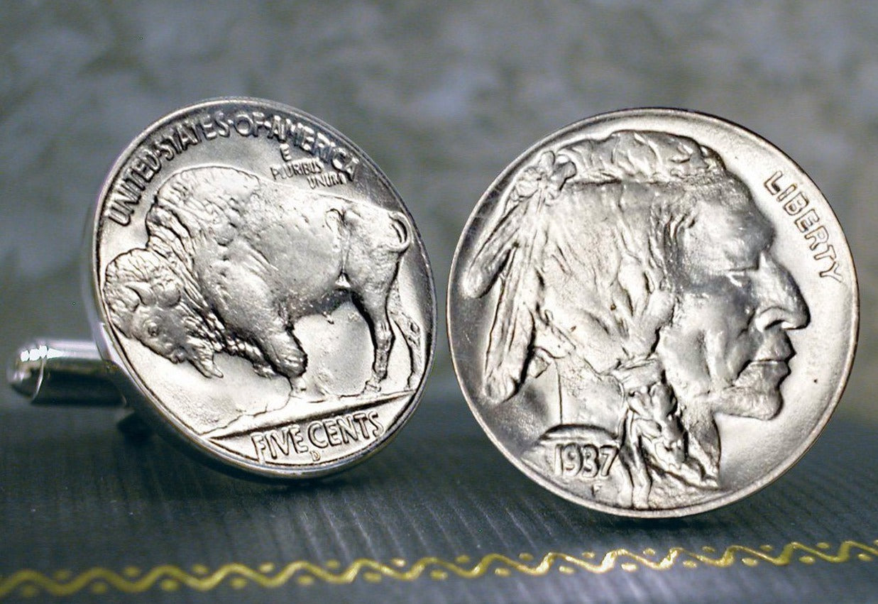 Buffalo Nickel Cufflinks - Unified Precious Metals, Inc. - The Shops at Mount Vernon