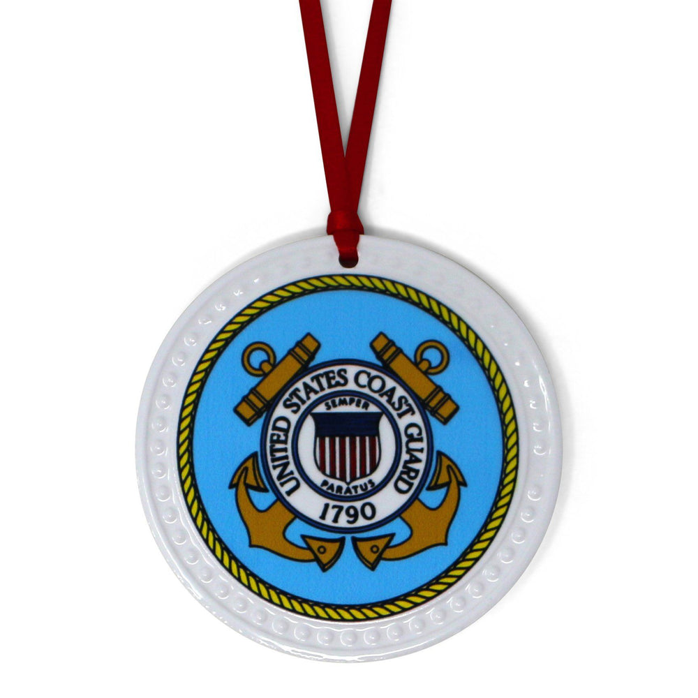 United States Coast Guard Seal Ornament - BARLOW DESIGNS, INC. - The Shops at Mount Vernon