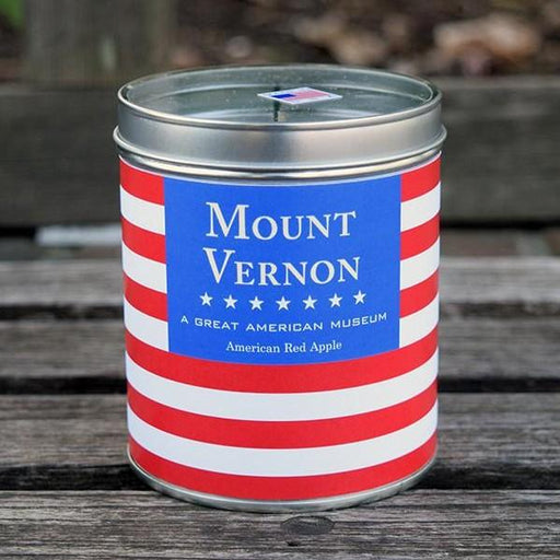 Mount Vernon Red, White and Blue Candle - The Shops at Mount Vernon - The Shops at Mount Vernon