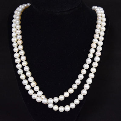 Long Strand of Freshwater Pearls