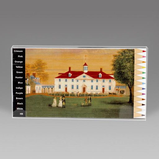 Mount Vernon 1792 Puzzle Pencil Set - The Shops at Mount Vernon - The Shops at Mount Vernon