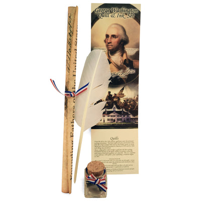 George Washington Quill and Ink Set