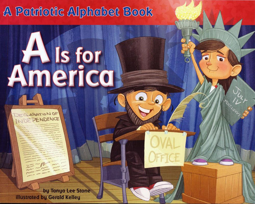 A Is for America - PENGUIN RANDOM HOUSE LLC - The Shops at Mount Vernon