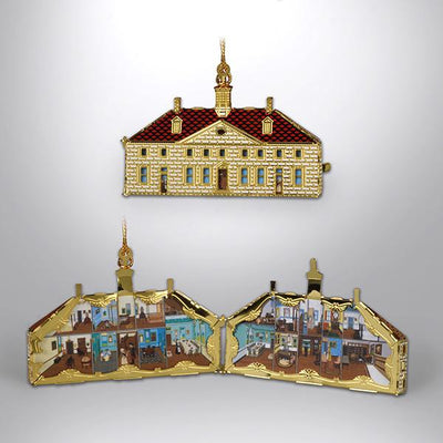 Mount Vernon Dollhouse Ornament