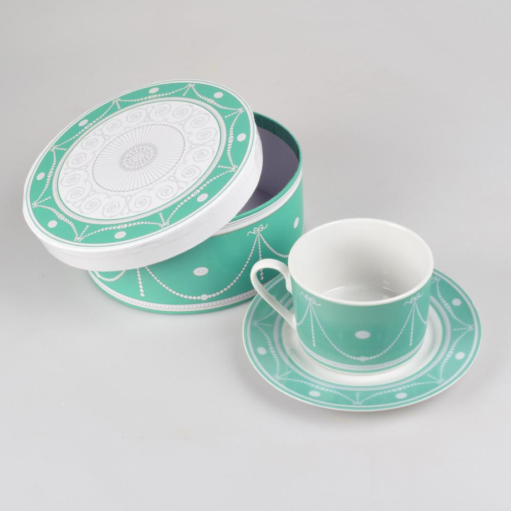 New Room Fine Porcelain Cup & Saucer - DESIGN MASTER ASSOCIATES - The Shops at Mount Vernon