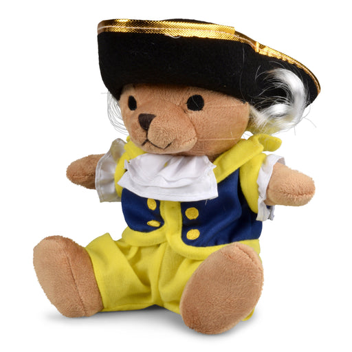 George Washington Plush Colonial Bear - The Shops at Mount Vernon - The Shops at Mount Vernon