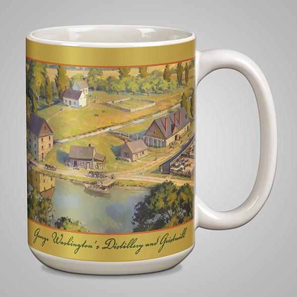 GW's Gristmill & Distillery Mug - DESIGN MASTER ASSOCIATES - The Shops at Mount Vernon