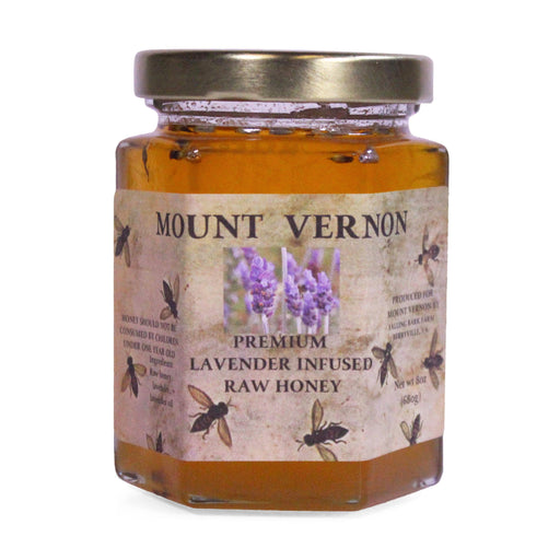 Lavender Infused Raw Honey - The Shops at Mount Vernon - The Shops at Mount Vernon