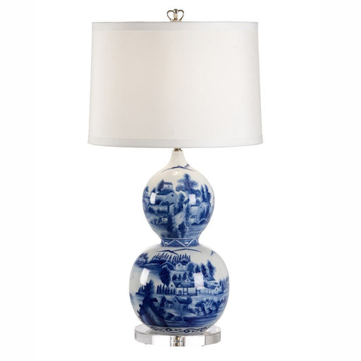 Blue and White Gourd Lamp - CHELSEA HOUSE - The Shops at Mount Vernon