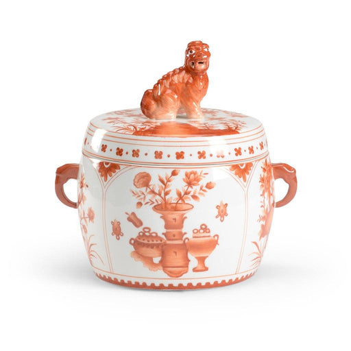 Chelsea House Cinnabar Covered Jar - CHELSEA HOUSE - The Shops at Mount Vernon
