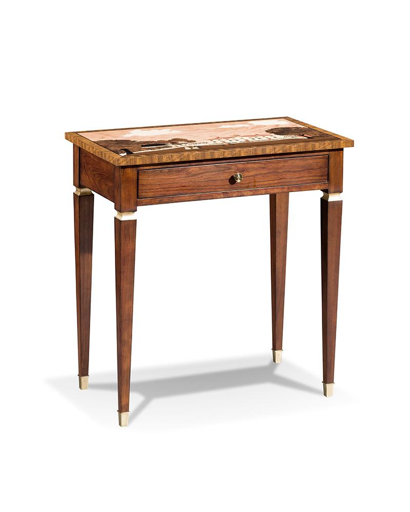 Mount Vernon 1792 Marquetry Tea Table
