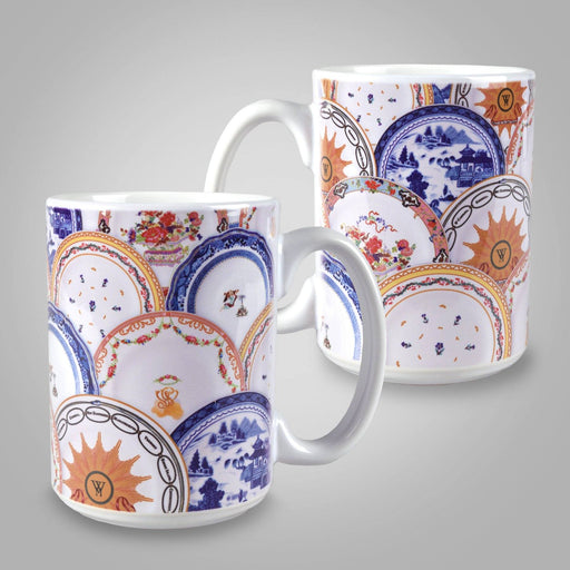 Martha's China Pattern Mug - DESIGN MASTER ASSOCIATES - The Shops at Mount Vernon