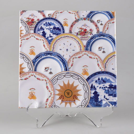 Martha's China Pattern Tile - DESIGN MASTER ASSOCIATES - The Shops at Mount Vernon