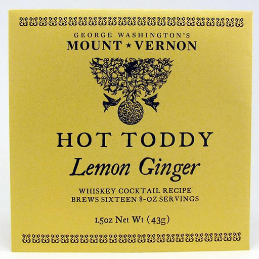 Mount Vernon Lemon Ginger Hot Toddy - OLIVER PLUFF & CO. - The Shops at Mount Vernon
