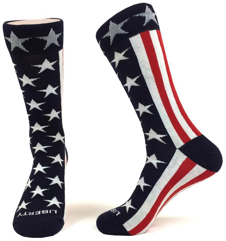 Old Glory Socks: A Tribute to the American Flag - The Shops at Mount Vernon - The Shops at Mount Vernon
