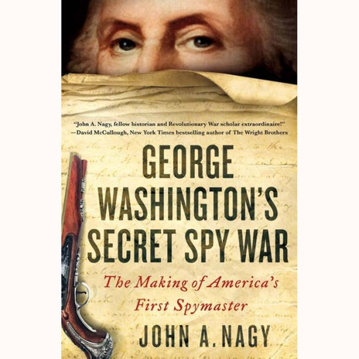 George Washington's Secret Spy War - MACMILLAN PUB.(SCRIBNER) - The Shops at Mount Vernon