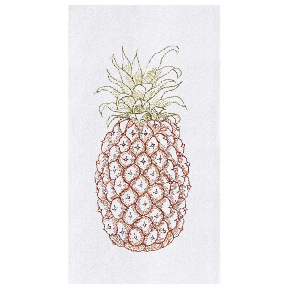 Colonial Pineapple Flour Sack Towel - The Shops at Mount Vernon - The Shops at Mount Vernon