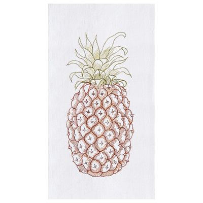 Colonial Pineapple Flour Sack Towel