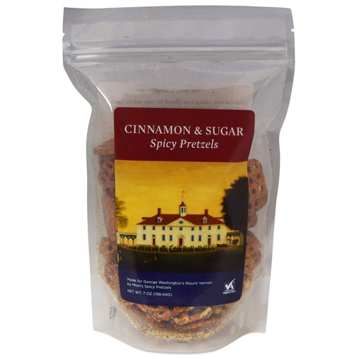 Spicy Cinnamon & Sugar Pretzels - The Shops at Mount Vernon - The Shops at Mount Vernon