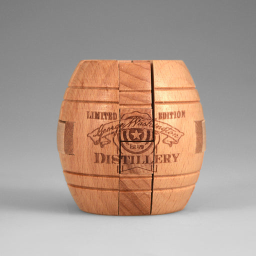 GW's Distillery Barrel Puzzle - 28 - The Shops at Mount Vernon