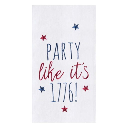 Party Like It's 1776 Towel - C & F ENTERPRISE - The Shops at Mount Vernon