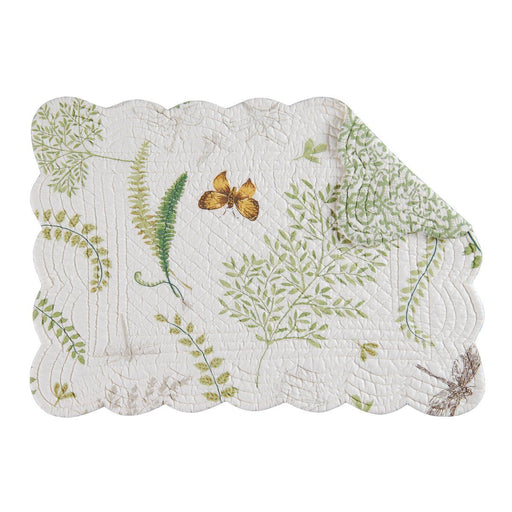 Garden Greenery Rectangular Placemat - C & F ENTERPRISE - The Shops at Mount Vernon