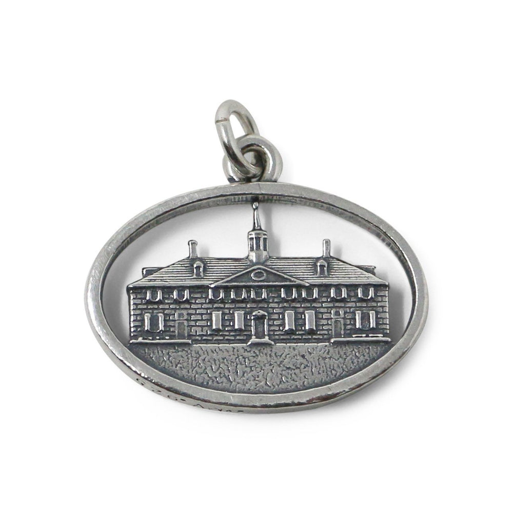 Sterling Silver Mount Vernon Mansion Charm - The Shops at Mount Vernon - The Shops at Mount Vernon