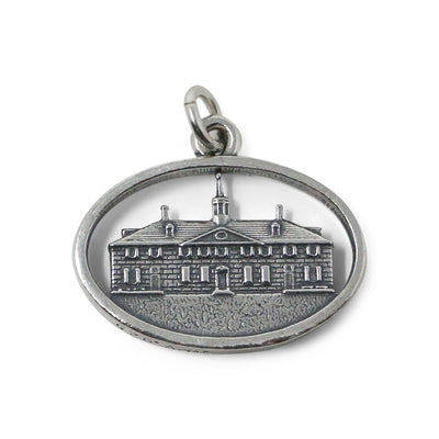 Sterling Silver Mount Vernon Mansion Charm