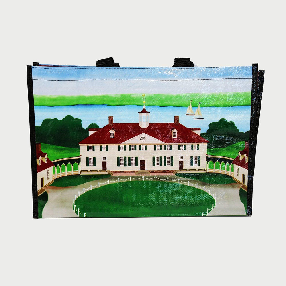 Mount Vernon Watercolor Recycled Tote - CHARLES PRODUCTS INC. - The Shops at Mount Vernon