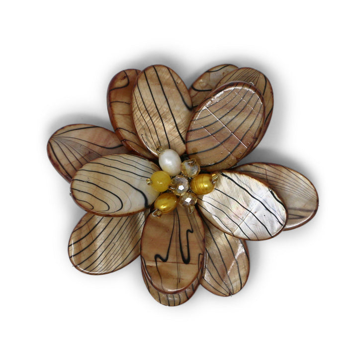 Tiger Wildflower Pin - Valerie Sanson - The Shops at Mount Vernon