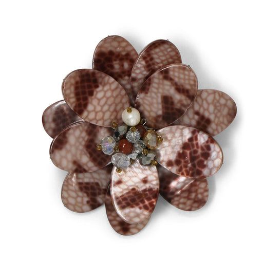 Python Wildflower Pin - Valerie Sanson - The Shops at Mount Vernon