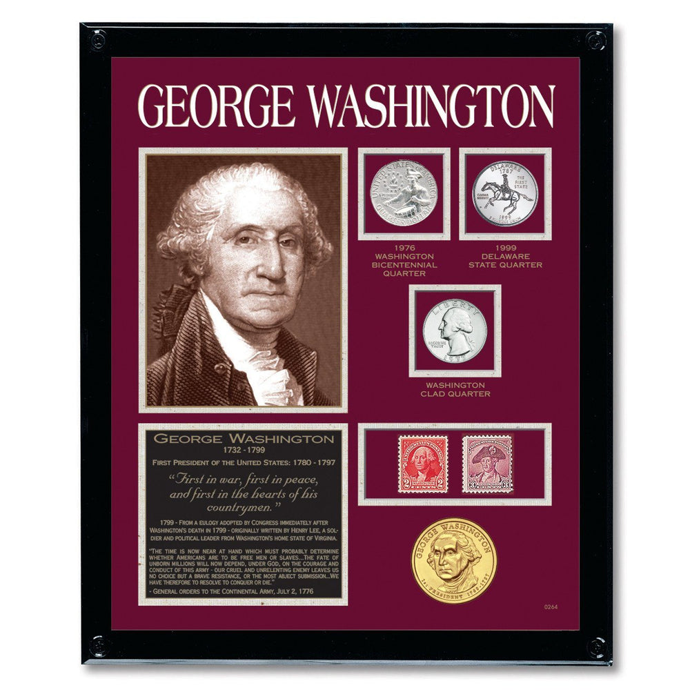 Framed Washington Tribute Collection - The Shops at Mount Vernon - The Shops at Mount Vernon